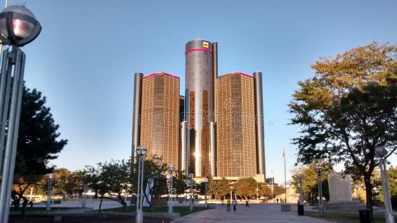 Detroit MI arkivbild