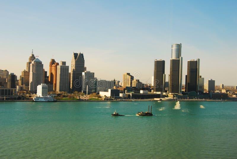 Download Detroit, Michigan stock photo. Image of skyscraper, city - 12833208
