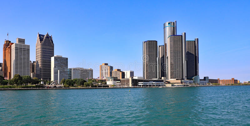Detroit, Michigan royalty-vrije stock afbeelding