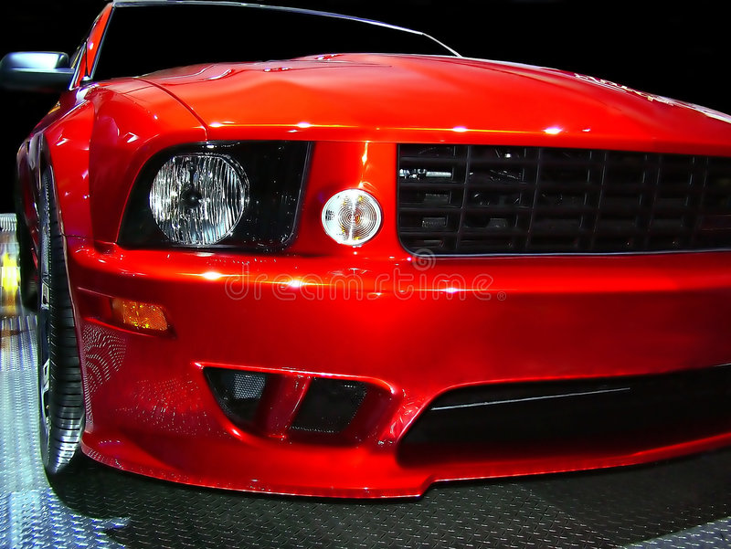 Detroit-Muskel-Auto lizenzfreies stockfoto