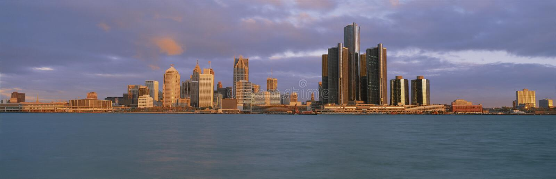 Detroit River stock photos