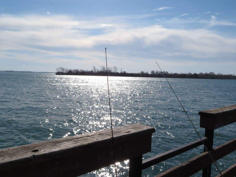 Detroit River lizenzfreie stockfotografie