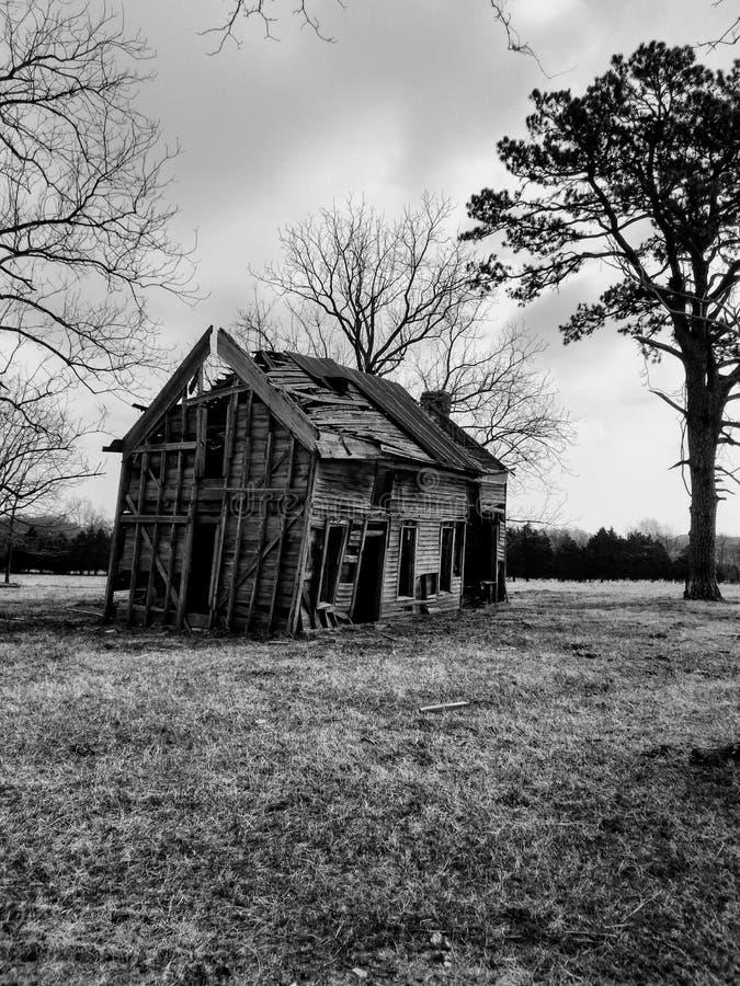 Detta gammala hus royaltyfria foton
