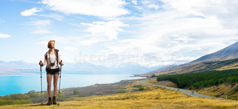 Detta landskap tar en andedräkt! arkivbild