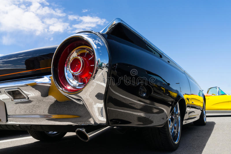 Dettagli d'annata dell'automobile fotografie stock libere da diritti