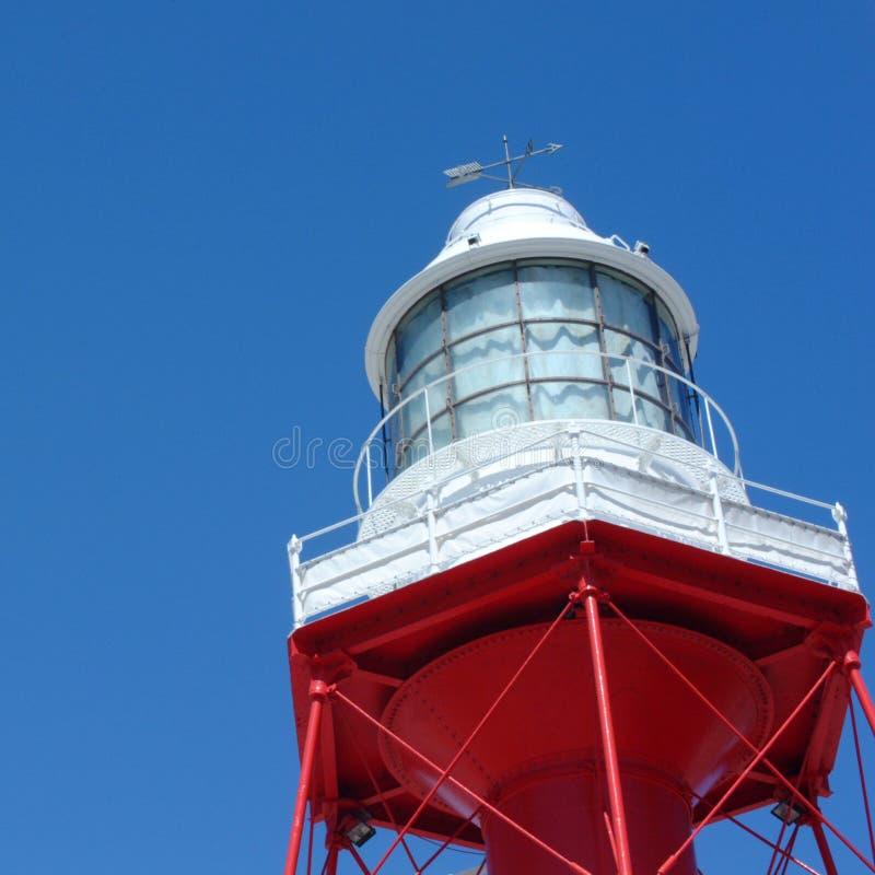 Dettagli del faro storico di Adelaide fotografia stock
