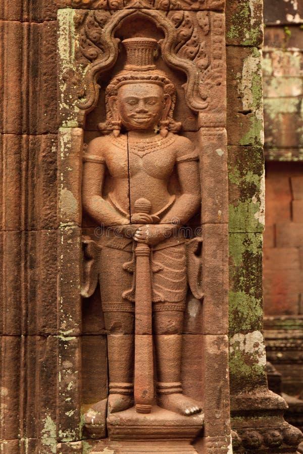 Dettagli del tempio di Wat Phu Champasak nel Laos fotografia stock libera da diritti