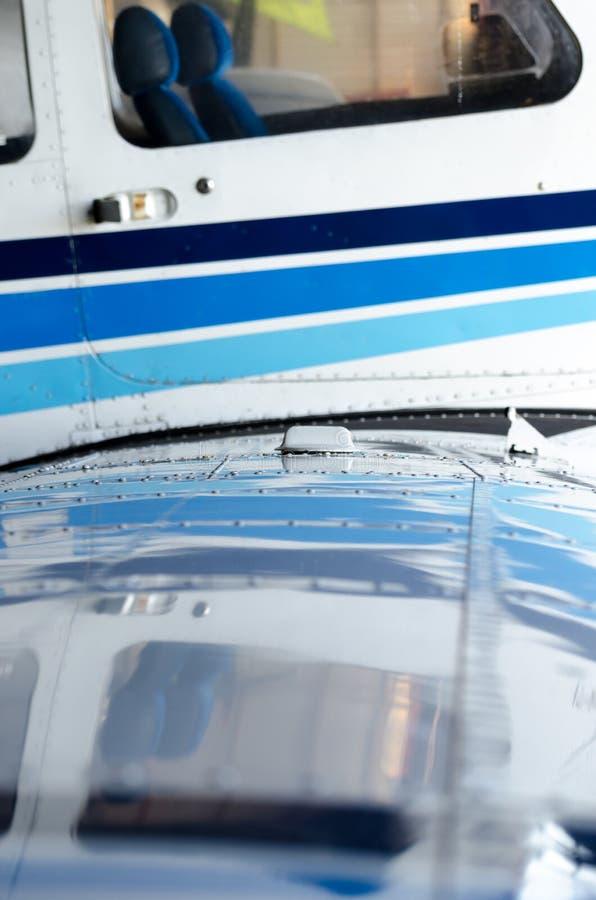 Dettagli dell'aereo di aria fotografia stock libera da diritti