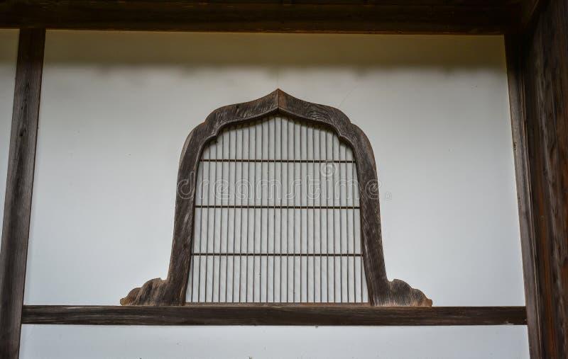 Dettagli della casa di legno giapponese immagine stock libera da diritti