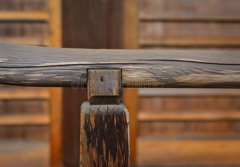 Dettagli della casa di legno giapponese immagini stock libere da diritti