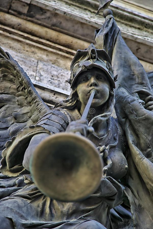 Dettagli della statua immagini stock