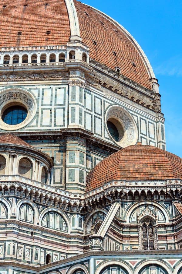Dettagli di Florence Cathedral, Toscana, Italia fotografia stock libera da diritti