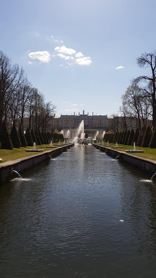 Dettagli di Peterhof fotografie stock libere da diritti