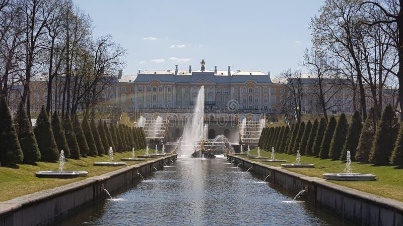 Dettagli di Peterhof immagine stock libera da diritti