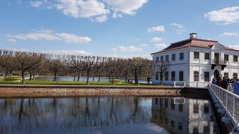 Dettagli di Peterhof fotografia stock