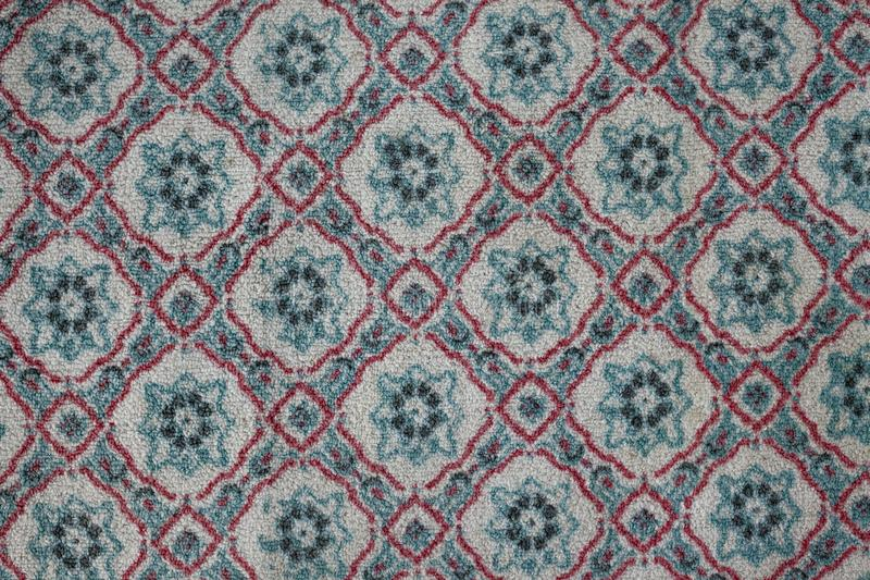 Dettagli di struttura del tappeto fotografie stock