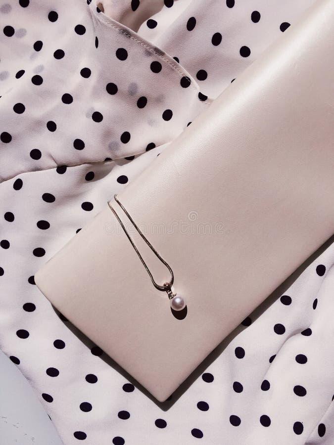 dettagli ed accessori eleganti, blogger di modo immagine stock