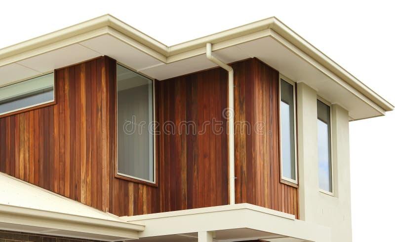 Dettagli moderni di esterno di architettura fotografia stock