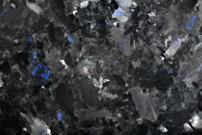 Dettagliato naturale del modello bianco di struttura e di fondo di marmo neri per il prodotto e l'interior design Granito nero fotografia stock