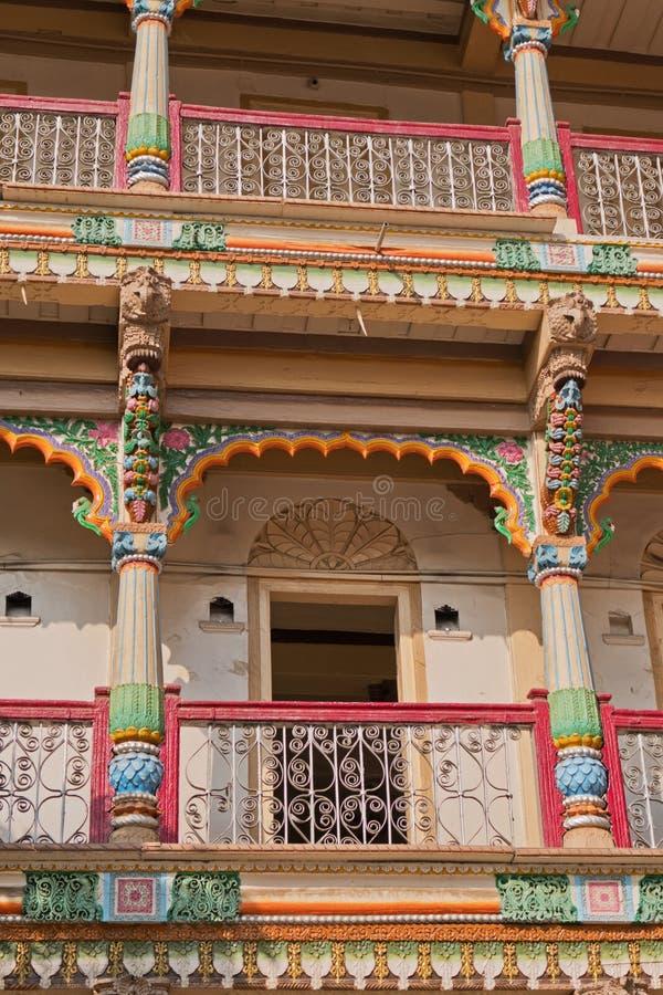 Dettaglio architettonico a Ahmedabad, India fotografie stock