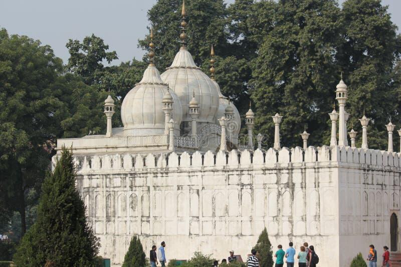Dettaglio architettonico di Moti Masjid immagine stock