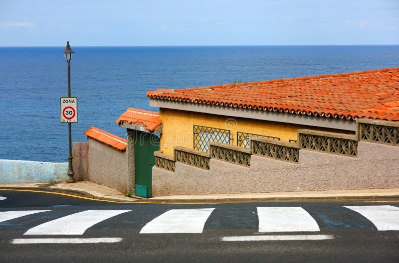 Dettaglio architettonico a Garachico fotografia stock