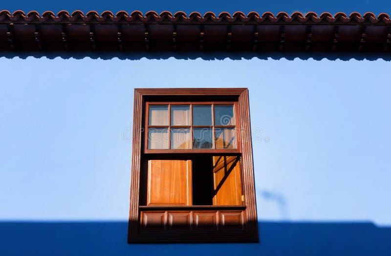 Dettaglio architettonico in San Cristobal de la Laguna immagine stock libera da diritti