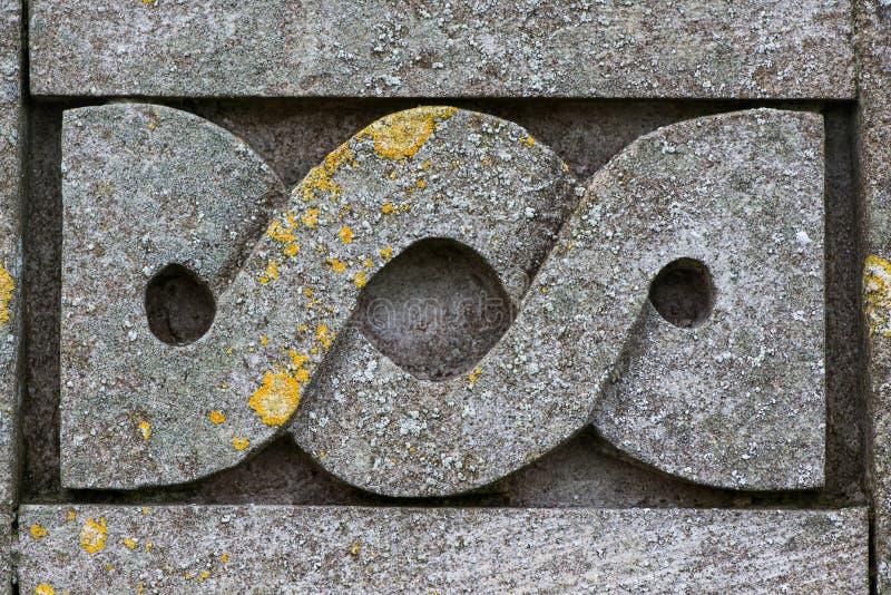 Dettaglio celtico di simbolo di progettazione immagini stock libere da diritti