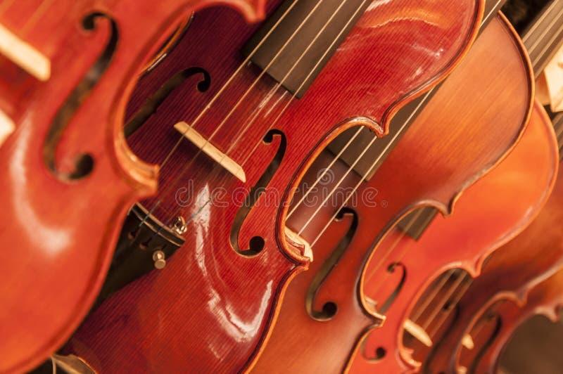 Dettaglio dal violino immagini stock libere da diritti