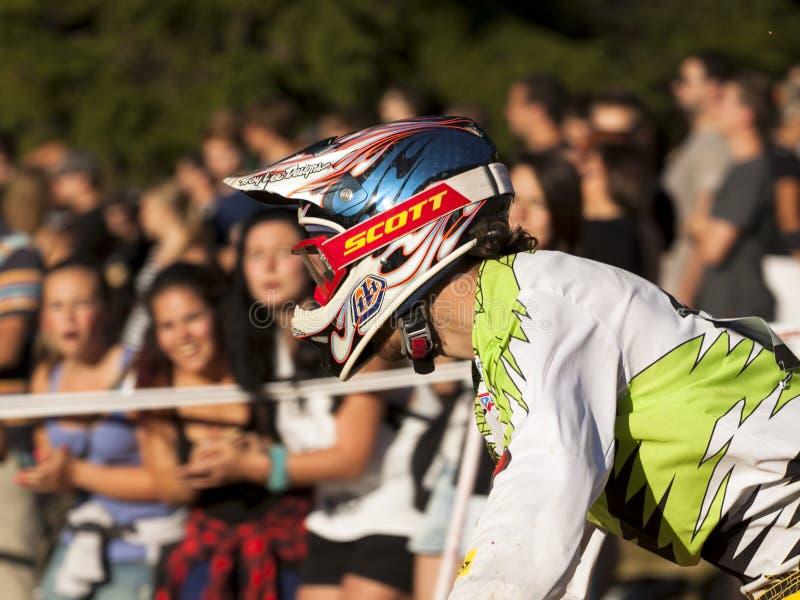 Dettaglio dei motociclisti - editoriale fotografia stock libera da diritti