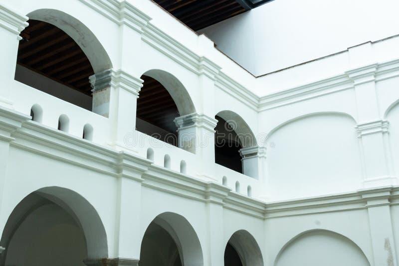 Dettaglio del centro di San Pablo Cultural a Oaxaca Messico immagini stock