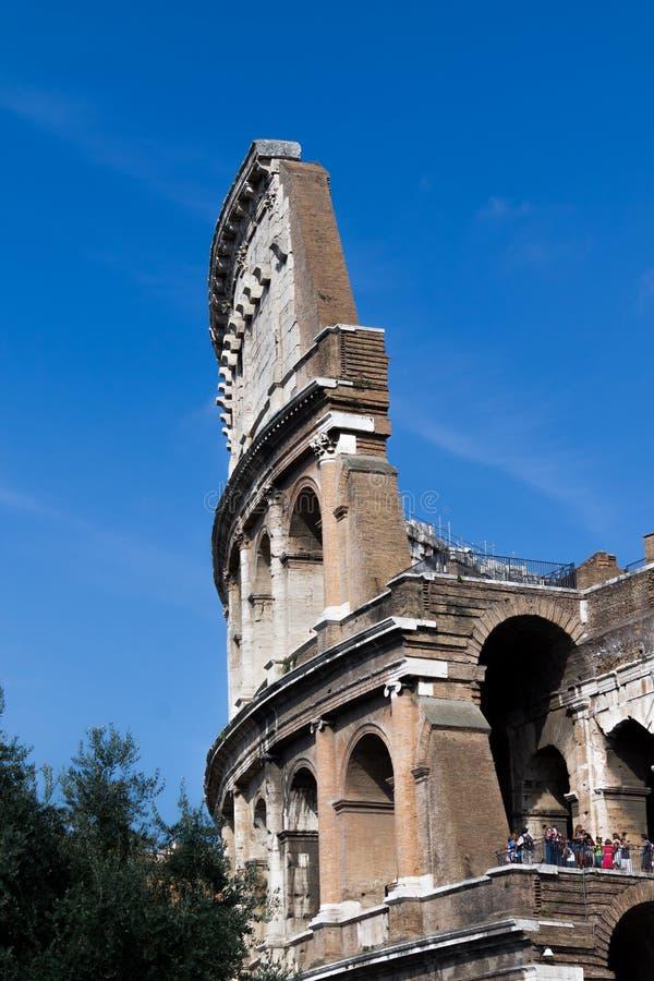 Dettaglio del Colosseo fotografie stock libere da diritti