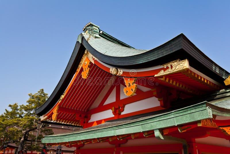 Download Dettaglio Del Tetto Del Santuario Del Giapponese Immagine Stock - Immagine di famoso, religioso: 30828933