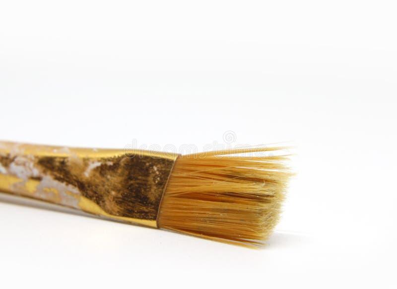 Dettaglio della foto della spazzola immagini stock