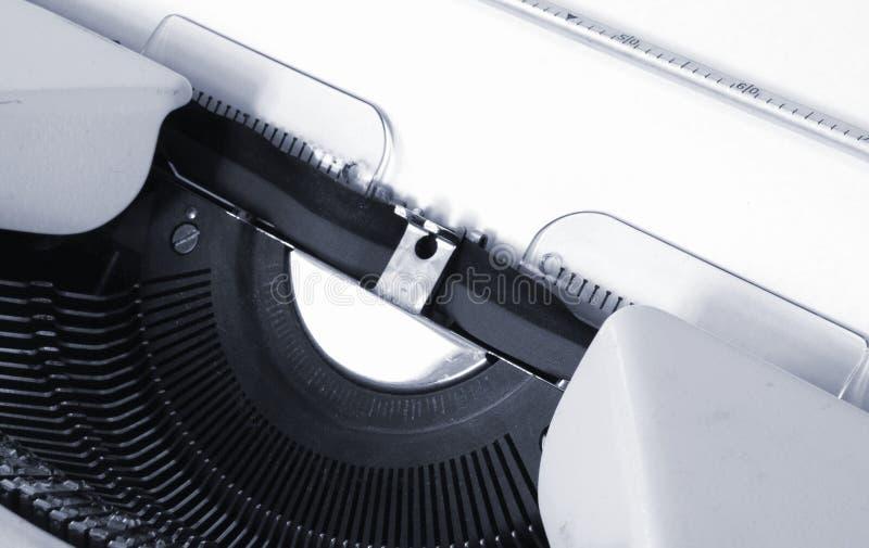 Dettaglio della macchina da scrivere immagine stock libera da diritti