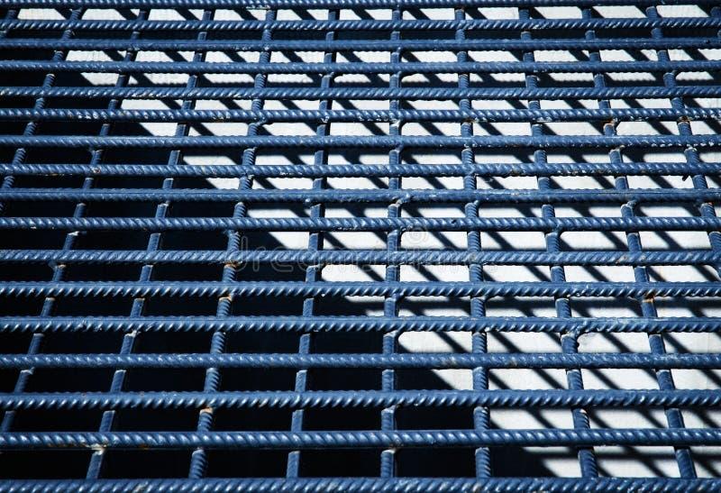 Dettaglio della rete metallica grigia immagini stock libere da diritti