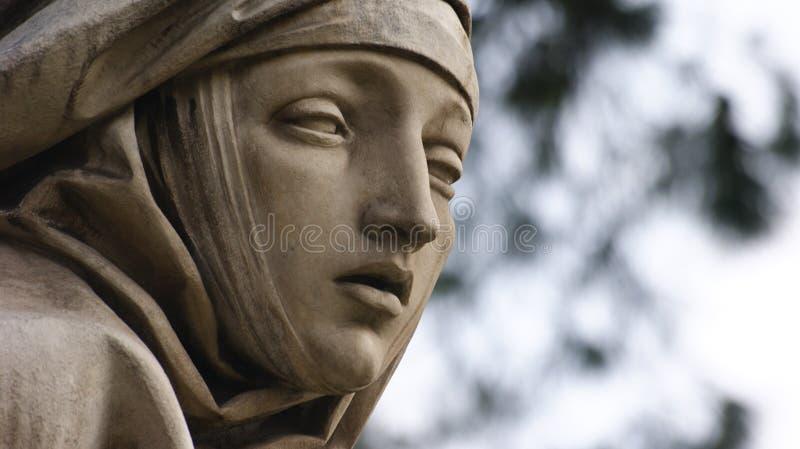 Dettaglio della statua di marmo immagine stock libera da diritti