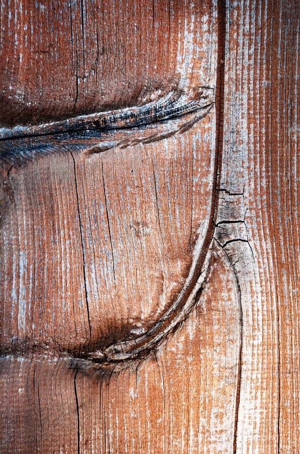 Dettaglio della struttura di un piatto di legno marrone immagini stock