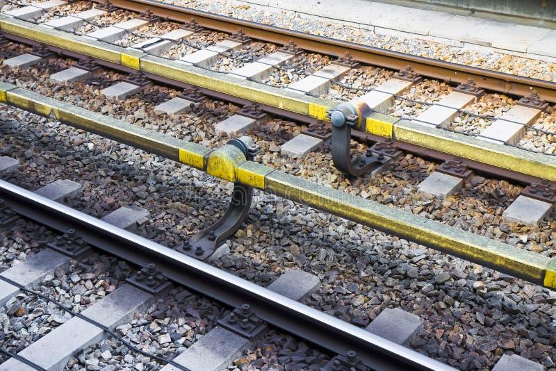Dettaglio della Svizzera ferroviaria svizzera immagine stock