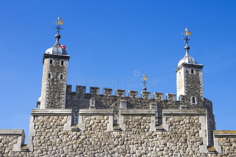 Dettaglio della torre di Londra immagine stock