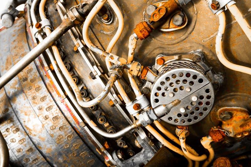 Dettaglio della turbina fotografia stock libera da diritti