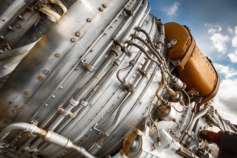Dettaglio della turbina immagini stock libere da diritti