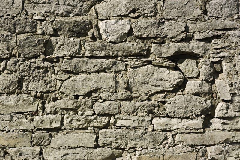 Dettaglio delle pareti antiche della fortificazione fotografia stock