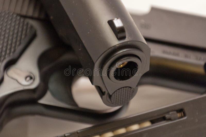 Dettaglio delle pistole di Airsoft fotografia stock
