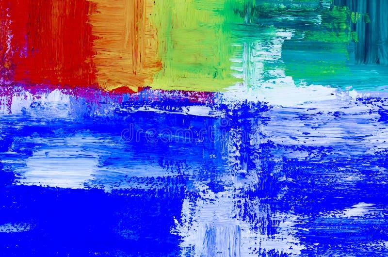 Dettaglio di fondo dipinto olio astratto artistico fotografie stock libere da diritti