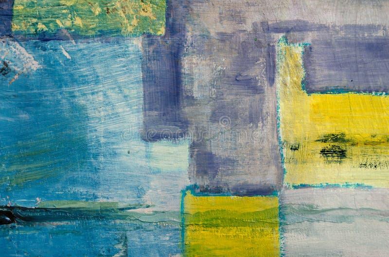 Dettaglio di fondo dipinto olio astratto artistico immagine stock