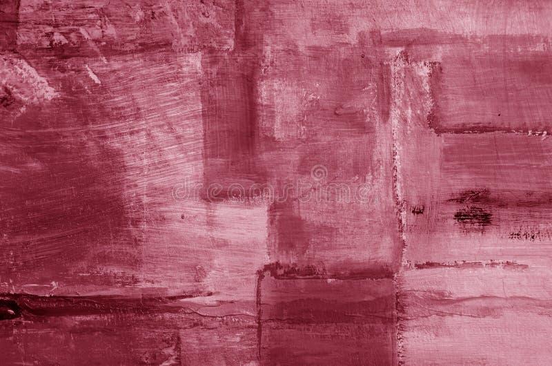 Dettaglio di fondo dipinto olio astratto artistico fotografie stock