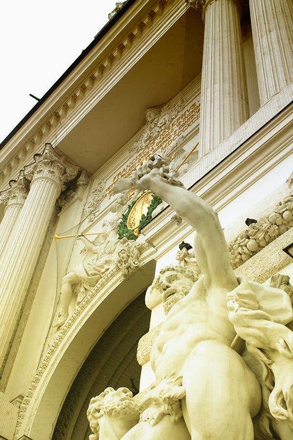 Dettaglio di Hofburg - palazzo imperiale, Vienna, Austria immagine stock libera da diritti