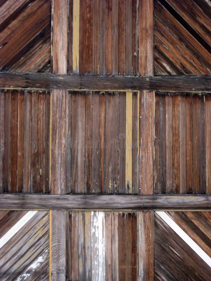 Dettaglio di legno della porta fotografie stock