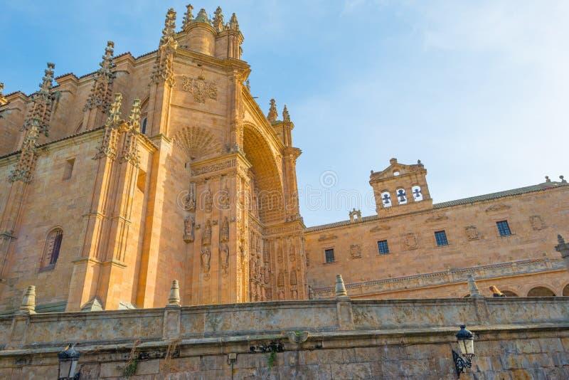 Dettaglio di un monastero domenicano a Salamanca immagini stock
